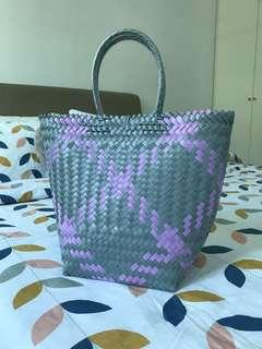 Penan Handwoven Basket Bag