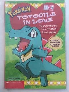 🚚 Pokemon Totodile in Love