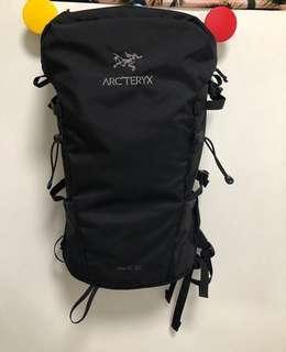 arcteryx brize 25 行山背囊 backpack 不死鳥 black