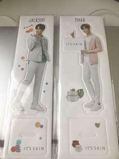 Got7 Mark and Jackson It's skin standee