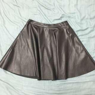 Miss Selfridge leather skirt