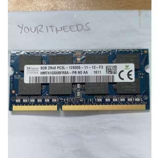 SK Hynix 8gb DDR3 Laptop RAM PC3L-12800S
