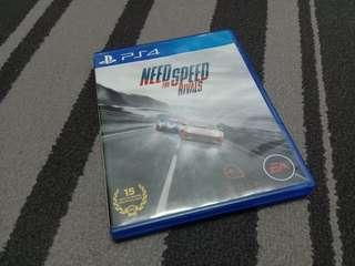 PS4 NEED FOR SPEED RIVAL