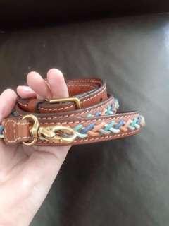 new fossil strap murah