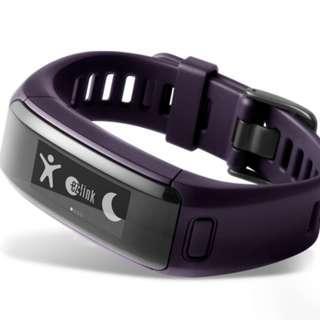 GARMIN, Vivosmart HR EZ Link Purple (Part Number 010-01955-88)