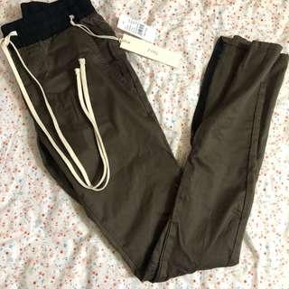 [Size S] BNWT Fear Of God Essentials Drawstring Trousers FOG