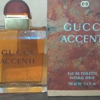 Perfume aurhentic Eropa Gucci Accenti