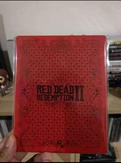 Red Ded Redemption 2 Steelbook