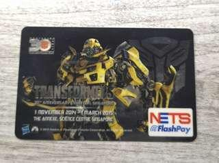 TRANSFORMERS Limited Edition NETS FlashPay