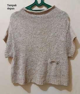 Knitted Top (Krem)