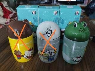 全新7-11 陶瓷杯 有盒 共三款可選