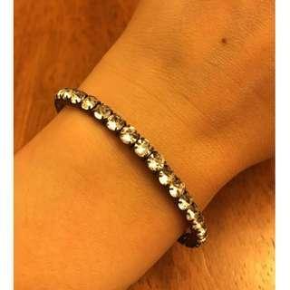 Accessorize crystal stretch bracelet 閃石手鍊 (包郵)