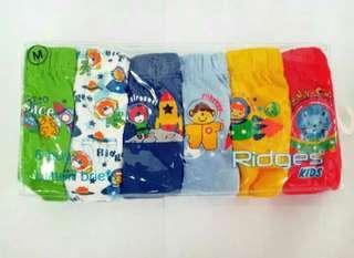 Celana dalam anak RIDGES