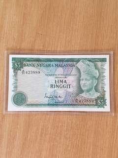 Malaysia $5 A71-423889