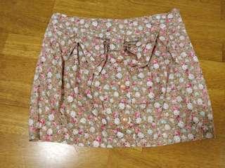 Cute Summer Floral Skirt