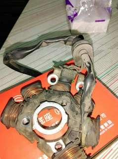 08年RS100原廠的電盤內仁 內詳
