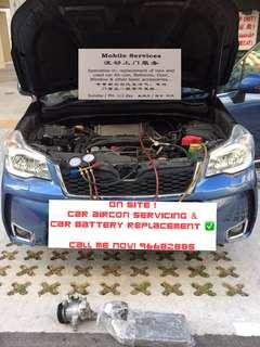 ✅ ON SITE CAR AIRCON SERVICING ! CAR BATTERY REPLACEMENT CAR CHANGE BATTERY ! CAR AIRCON REPAIR CAR AIR CON SERVICE ! Car cooling coil car compressor repair ! Call me now ! @96682885✅