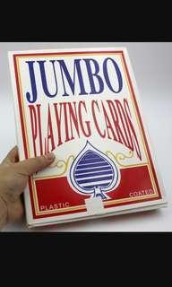 派對用特大啤牌/撲克  Jumbo playing cards/poker