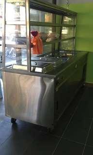 6 tray display cabinet (puan ayu 0182087450)