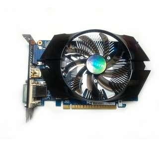 技嘉 GV N740D5OC 1G DDR5 靜音大風扇版 極致散熱效能 可玩 LOL HDMI VGA DVI-D