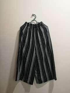 Korean Culottes black