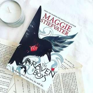 instocks:- the raven boys paperback