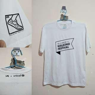 Kaos Dry Fit 'YG x UNICEF 4K Walking Festival'