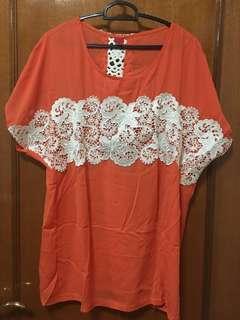 🚚 Brand New Orange Blouse