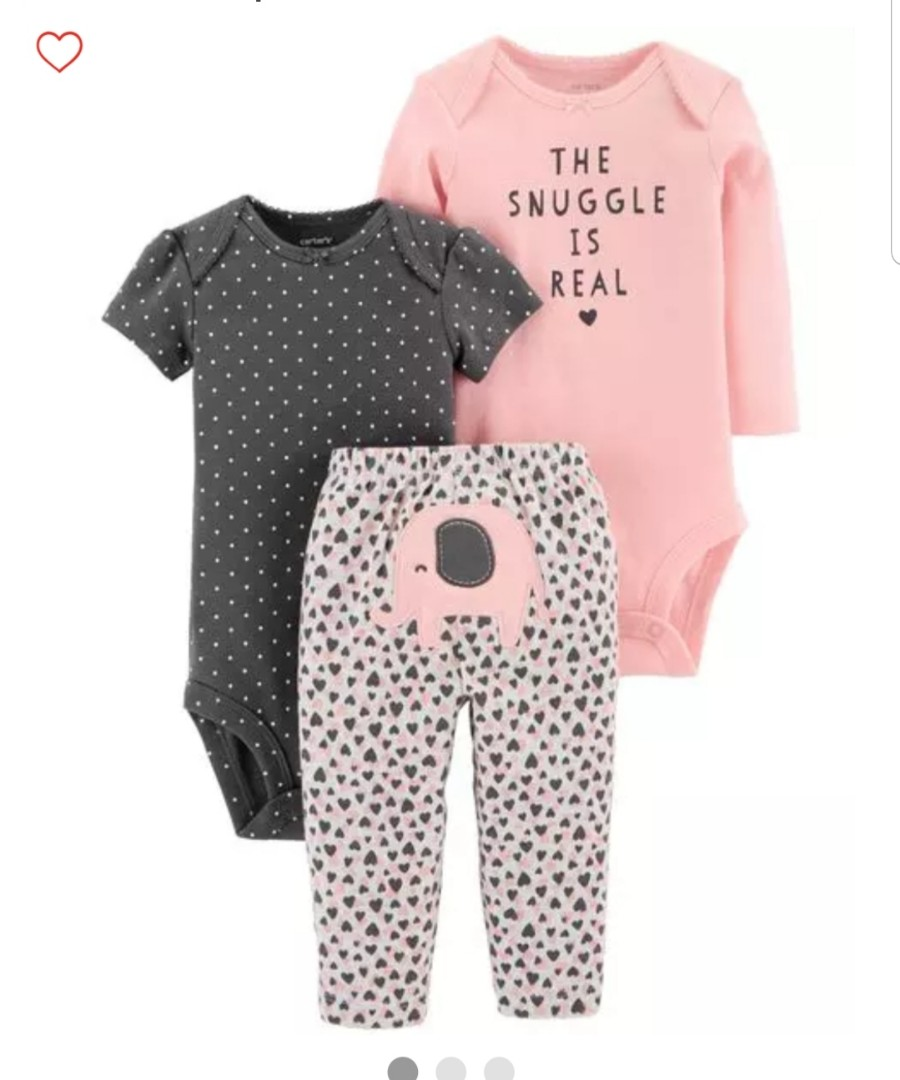 de98fef9087 18M  Brand New Carter s 3-Piece Little Character Set For Baby Girl ...