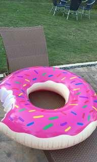 Giant Pink Donut Floaty (high quality)