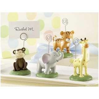 Kate Aspen Cute Animals Place Card Holder