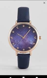 Galaxy Print Watch
