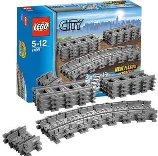 Lego 7499 City Flexible Track 火車路軌