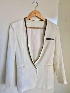 White suits jacket