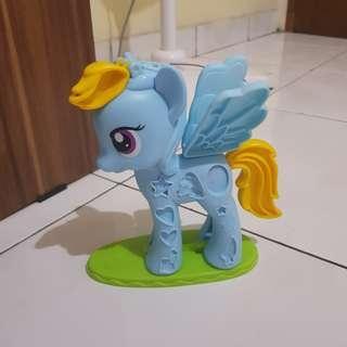 Littel pony cetakan clay