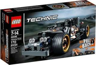 Lego 42046 Technic Getaway Racer pull back 回力車