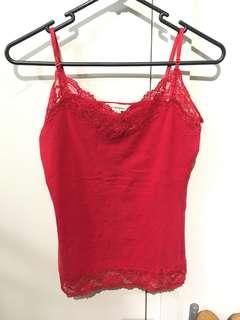 Red lace single (new)