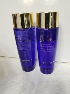 estee lauder gentle eye makeup remover 100ml x 2支 全新 專櫃貨品