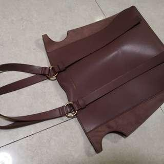 Brand New Charles and Keith shoulder bag  A4 paper size