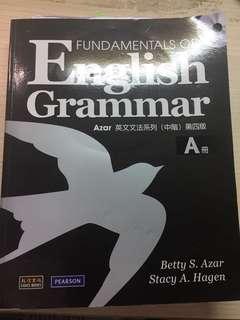🚚 英文基礎文法中階 第四版 #我要賣課本