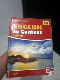 Buku Bahasa Inggris Kelas IX