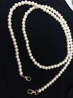 Pearl bag handle