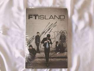 RARE Autographed/Signed FT Island Jump Up Mini Album
