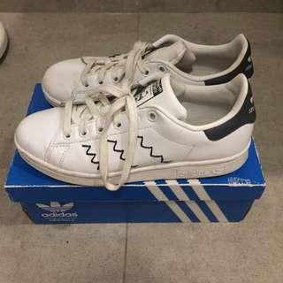 Adidas Stan Smith Zigzag Pattern