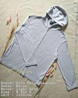 Polo Grey Hoodie Jacket