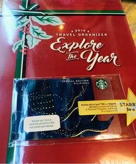 Starbucks 2019 Planner Teal and Brown