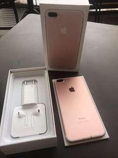iPhone 7 plus 128gb rose gold nego