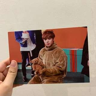 [wts] jihoon therefore postcard
