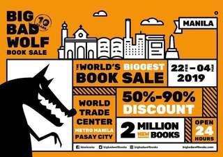 Big Bad Wolf Book Sale Pasabuy