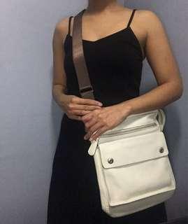 Preloved Authentic Fino Crossbody Bag Genuine Leather